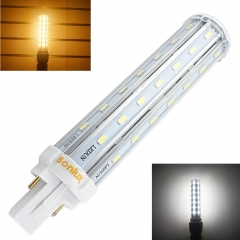13W LED G24 2-Pin Base Corn Light Bulb 110V 220V 13W G24 PLC Lamp Horizontal Plug Light with 30W CFL Replacement