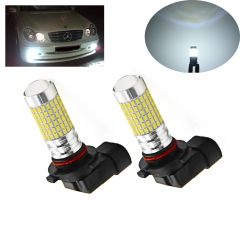 H10 LED Fog Light Bulbs 1400 Lumens 6000k Daylight 9140 9145 H10 Daytime Running Light Lamps with Projector (360°Beam Angle, 2-Pack)